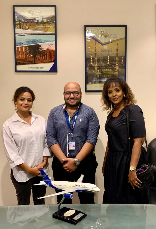 Oman Airports Airline Marketing visits Egypt