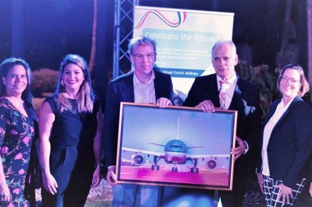 KLM Celebrates 100 Years and soon 85 years to AUA