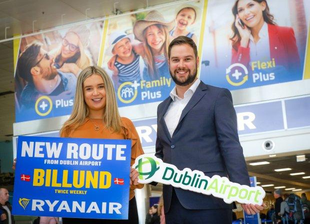 Ryanair Launches New Service To Billund