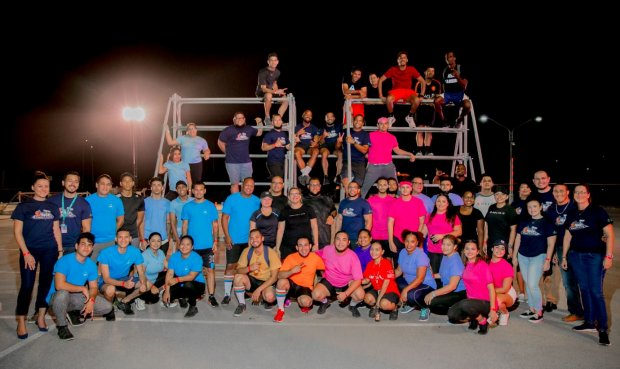 Aruba Airport hosted the 1st Airport Funstacle Challenge
