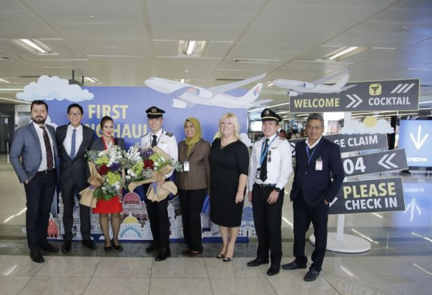 First Long-Haul Flight from SAW