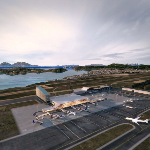 The pilot project for a new airport in Bodø has been initiated