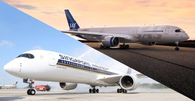 New generation A350 lifts off from Copenhagen!
