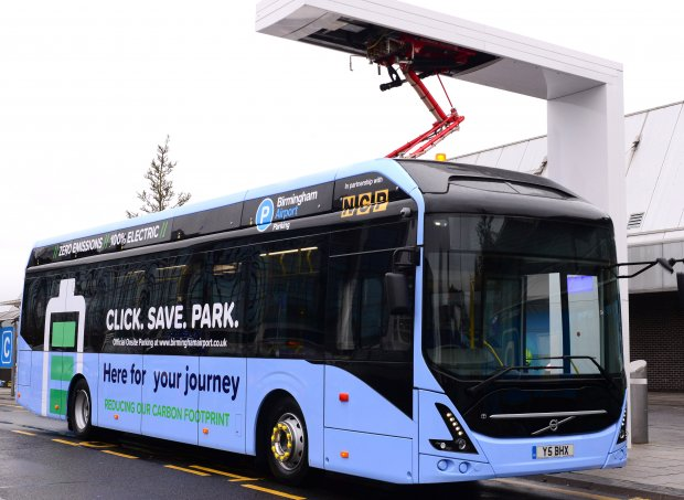 Birmingham Airport leads the way with New Electric Bus Fleet