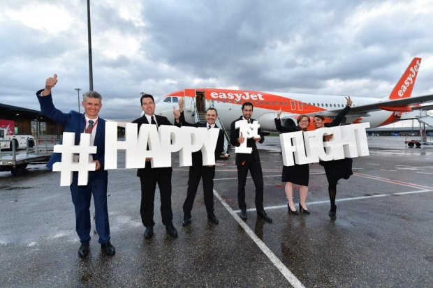 easyJet adds Lyon - Lanzarote service from 13 December 2019
