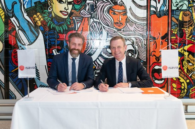 Agreement Signed with UK company Mace, for the future development of Keflavik International Airport