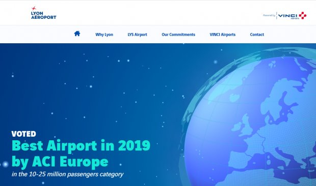 Lyon Airport's New Website Dedicated to Airlines