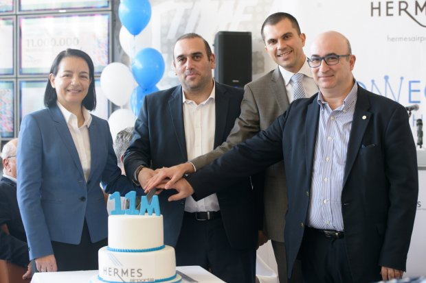 Hermes Airports reaches 11 million passengers for the first time