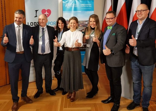 Routes Europe 2021 in Lodz Airport - Central Poland
