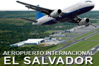 El Salvador International Airport logo