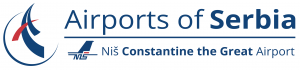 Niš Constantine the Great Airport logo