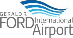 Gerald R Ford International Airport logo