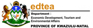 Department of Economic Development, Tourism and Environmental Affairs, KZN logo