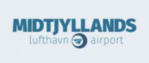 Midtjyllands Lufthavn / KRP logo