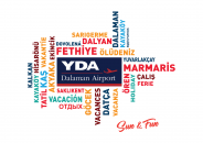 YDA Dalaman Airport logo