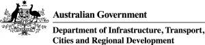 Department of Infrastructure, Transport, Cities and Regional Development, Australia logo