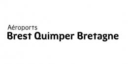 Aéroports Brest Quimper Bretagne logo