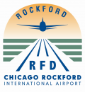 Chicago Rockford International Airport logo