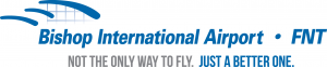 Flint Bishop International Airport logo