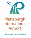 Plattsburgh International Airport logo
