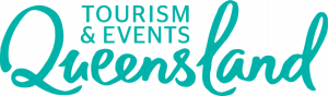 Tourism and Events Queensland logo
