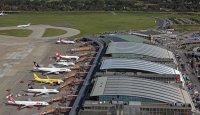 Aerial View of Hamburg Airport