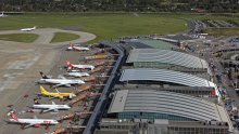 Aerial View of Hamburg Airport