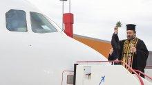 Inaugural Flight blessing - Aegean
