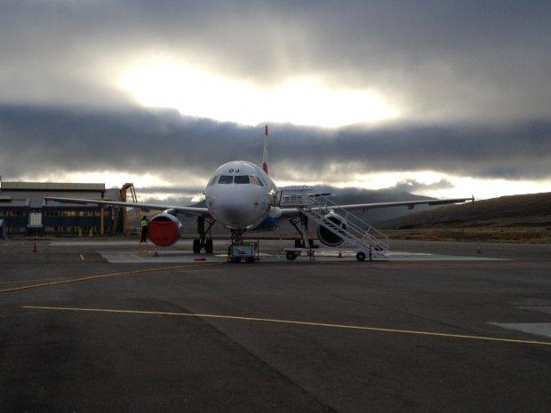 Austrian Airlines, Vagar Airport