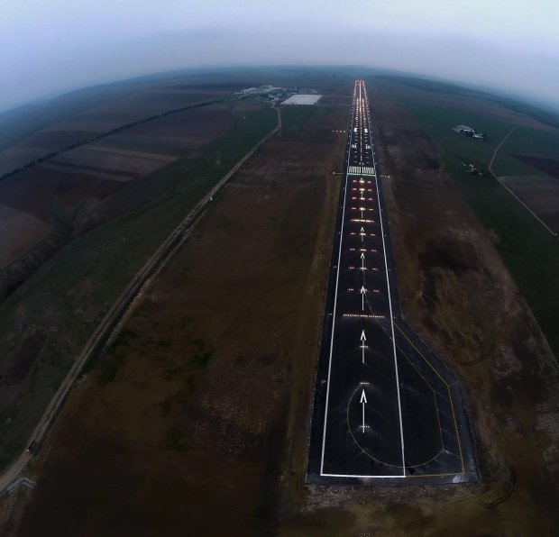 Suceava Airport Runway