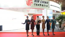 Air China exhibitor stand