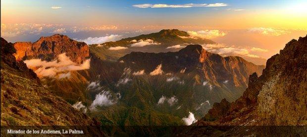 Mirador de los Andenes, La Palma