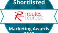 Routes Europe Marketing Awards Shortlisted