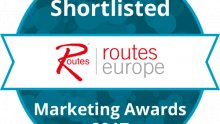 Routes Europe Marketing Awards Shortlisted