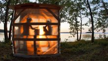 Sauna by Lake Saimaa