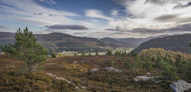 Braemar Landscape - Cairngorms National Park
