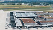 Berlin Brandenburg Airport from above 3