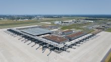 Berlin Brandenburg Airport from above 1