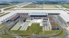 Berlin Brandenburg Airport from above 2