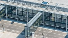 Berlin Brandenburg Airport from above 4