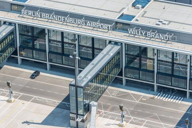 Berlin Brandenburg Airport from above 4