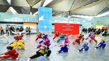 Day of China at Pulkovo Airport
