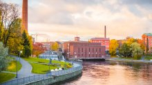 Autumn in Tampere - Evening Light - Laura Vanzo