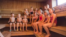 Family Fun at Rauhaniemi Sauna - Laura Vanzo