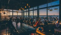 Sky Bar in the highest hotel in Finland - Solo Sokos Hotel Torni Tampere - Aki Rask