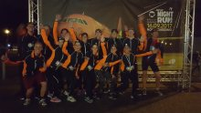 The Groningen Team in the Night Run!