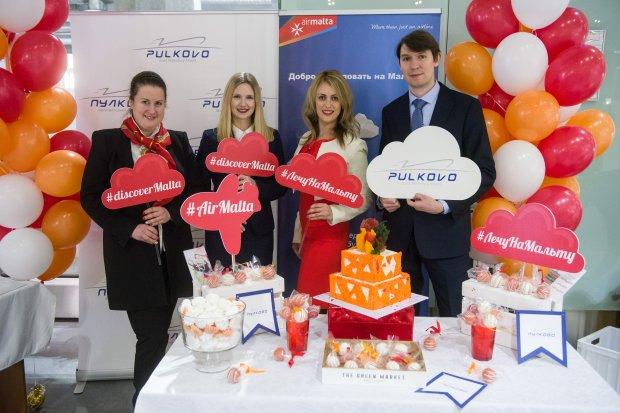 Air Malta Inaugural