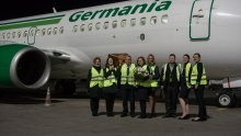 Germania Inaugural Flight