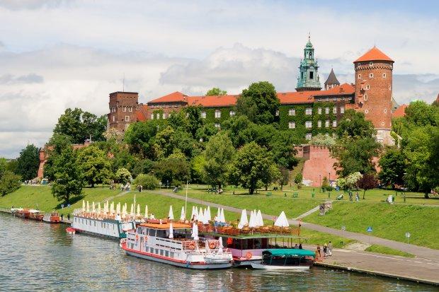 Wawel Royal Castle in Cracow