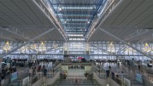 Fukuoka - International Airport Terminal, Indoors